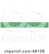 Royalty Free RF Clipart Illustration Of A Border Of Green Christian Crosses