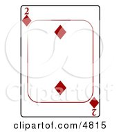 Two2 Of Diamonds Playing Card