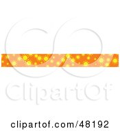 Royalty Free RF Clipart Illustration Of A Border Of Summer Suns by Prawny
