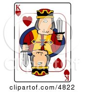 KKing Of Hearts Playing Card