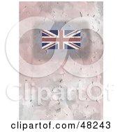 Textured Union Jack Flag Background