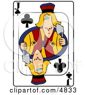 JJack Of Clubs Playing Card