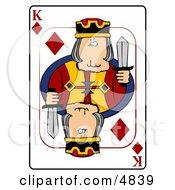 KKing Of Diamonds Playing Card