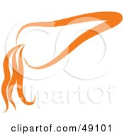 Royalty Free RF Clipart Illustration Of An Orange Carrot