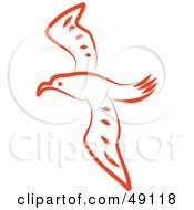 Orange Seagull