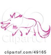 Pink Wolf