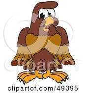 Falcon Mascot Character