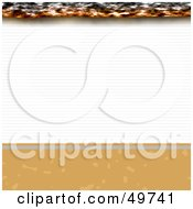 Royalty Free RF Clipart Illustration Of An Extreme Closeup Of A Cigarette by Arena Creative