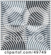 Royalty Free RF Clipart Illustration Of A Background Of Silver Coils
