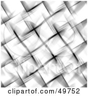 Royalty Free RF Clipart Illustration Of A Blurred Picnic Basket Weave Background