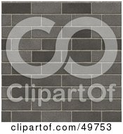 Royalty Free RF Clipart Illustration Of A Background Of A Gray Brick Wall by Arena Creative