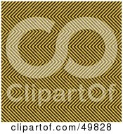 Royalty Free RF Clipart Illustration Of A Backgorund Of Tight Hazard Stripes