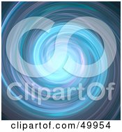 Royalty Free RF Clipart Illustration Of A Fast Spinning Vortex Of Purple And Blue Water