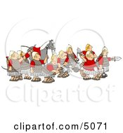 Roman Legion Clipart by djart