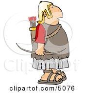 Roman Army Soldier Archer