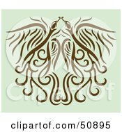 Royalty Free RF Clipart Illustration Of A Deco Pattern Version 2