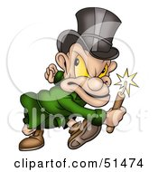 Royalty Free RF Clipart Illustration Of A Mad Bomber