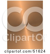 Royalty Free RF Clipart Illustration Of A Background Of Circular Brushed Copper by stockillustrations