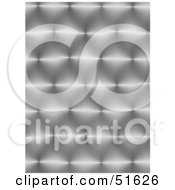 Royalty Free RF Clipart Illustration Of A Background Of Shiny Textured Metal by stockillustrations