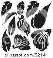 Poster, Art Print Of Digital Collage Of Floral Elements - Version 8