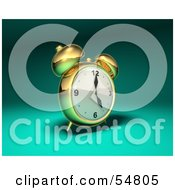 3d Brass Alarm Clock - Version 2