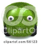 3d Grass Car Character Version 1