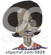 66th United States Secretary Of State Condoleezza Rice Caricature