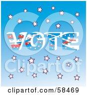 Patriotic American Vote Background - Version 2