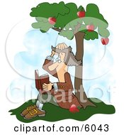 Sir Isaac Newtons Universal Law Of Gravitation Clipart Picture