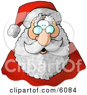 Santa Claus Face Clipart Picture by djart