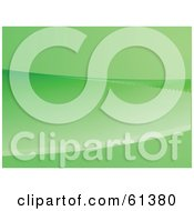 Green Abstract Flowing Background Version 7