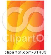 Orange Abstract Light Background Version 2