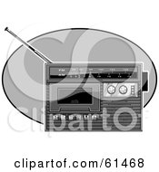 Black And White Radio