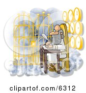 Gateway To Heaven Clipart Illustration by djart