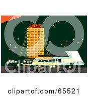 Royalty Free RF Clipart Illustration Of Rail Transport In Tasmania by Dennis Holmes Designs