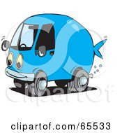 Blue Fish Van