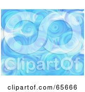 Royalty Free RF Clipart Illustration Of A Background Of Blue Skies Version 5