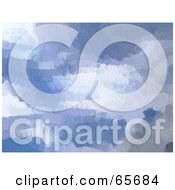 Royalty Free RF Clipart Illustration Of A Background Of Blue Skies Version 1