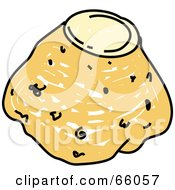 Royalty Free RF Clipart Illustration Of A Celery Root