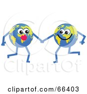 Royalty Free RF Clipart Illustration Of Global Characters Holding Hands by Prawny