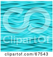 Royalty Free RF Clipart Illustration Of A Turquoise Rippling Water Background