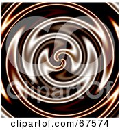 Royalty Free RF Clipart Illustration Of A Whirlpool Background Of Liquid Chocolate by Arena Creative