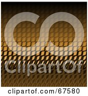 Royalty Free RF Clipart Illustration Of A Background Of Golden Shiny Reptile Skin Scales