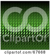 Royalty Free RF Clipart Illustration Of A Background Of Green Shiny Reptile Skin Scales