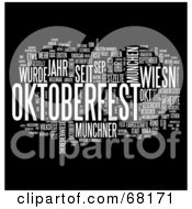 Royalty Free RF Clipart Illustration Of An Oktoberfest Word Collage Version 6