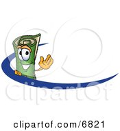 Green Carpet Mascot Cartoon Character Logo