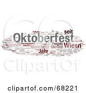 Royalty Free RF Clipart Illustration Of An Oktoberfest Word Collage Version 5