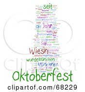Royalty Free RF Clipart Illustration Of An Oktoberfest Word Collage Version 7