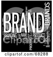 Brand Word Collage Version 3