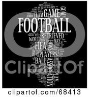 Association Football Word Collage Version 3